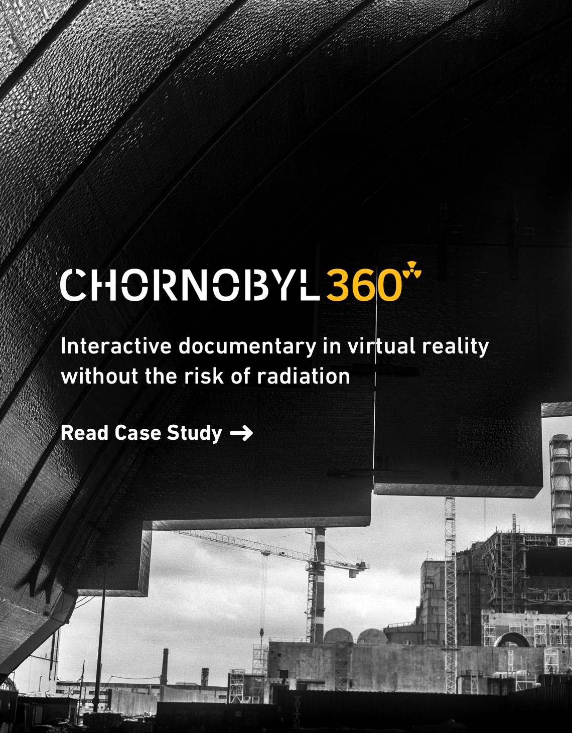 Chornobyl360 - interactive documentary in virtual reality