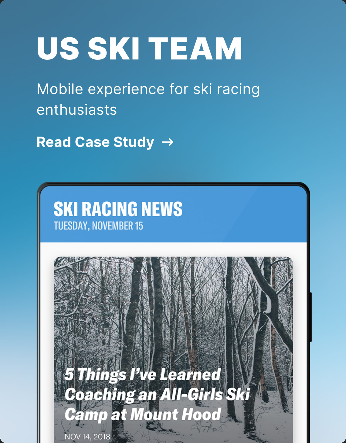 US SKI TEAM PROJECT THUMBNAIL